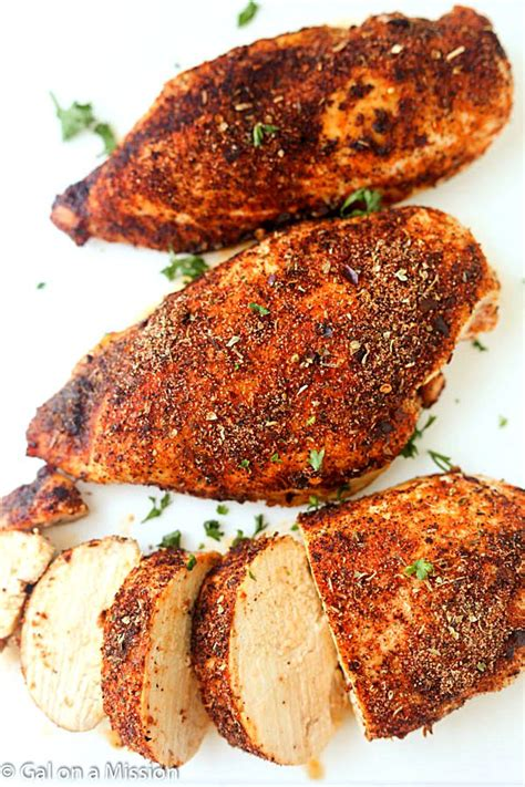 baked chicken breast recipes baked cajun chicken gal on a mission
