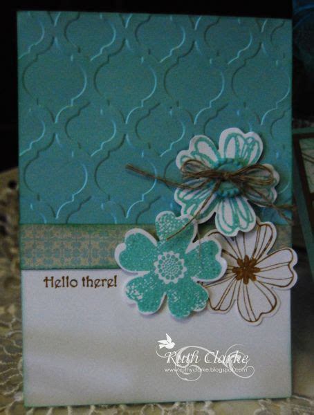 Diy Pansy Card Template by Flower Shop Pansy Punch Stin Up Only