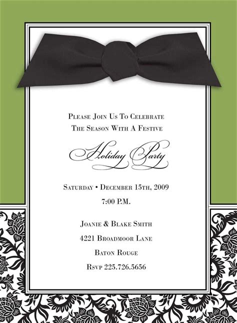 card template event invitation card free card