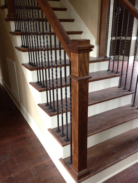 wooden banisters for stairs 17 best images about fixer upper on pinterest wrought