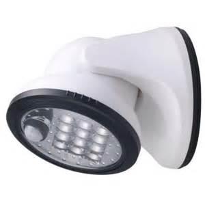 motion sensor light home depot light it white 12 led wireless motion activated