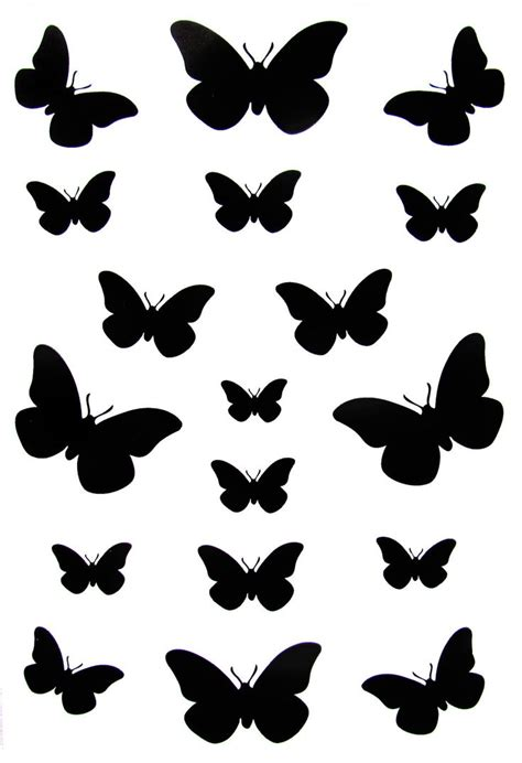 24 best small black butterfly tattoos images on pinterest