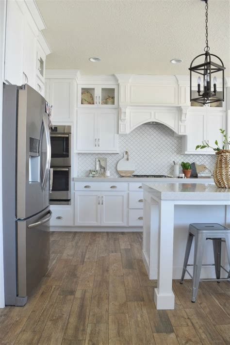 home designer series white kitchen  great room