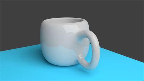 tutorial blender cup tea cup blender 3d model