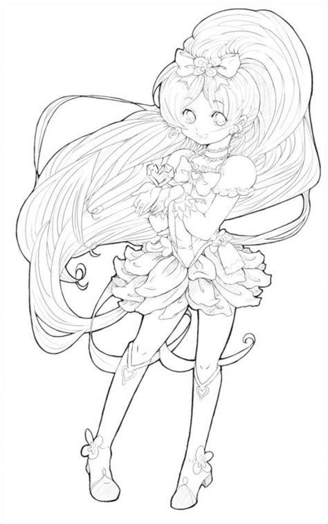 7+ Anime Coloring Pages - PDF, JPG | Free & Premium Templates