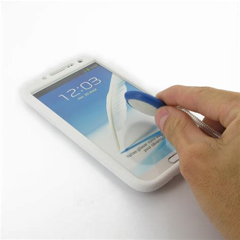 Silicon Casing Softcase Standing Samsung Note 2 N7100 samsung galaxy note 2 luxury silicone soft white pdair