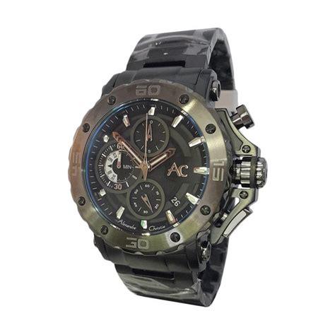 Jam Tangan Alexandre Christie Karet harga alexandre christie 142966 chronograph tali karet jam