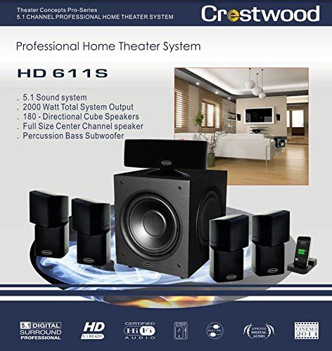 review crestwood professional home theater system