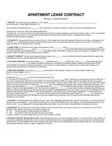 apartment leases printable apartment lease things to