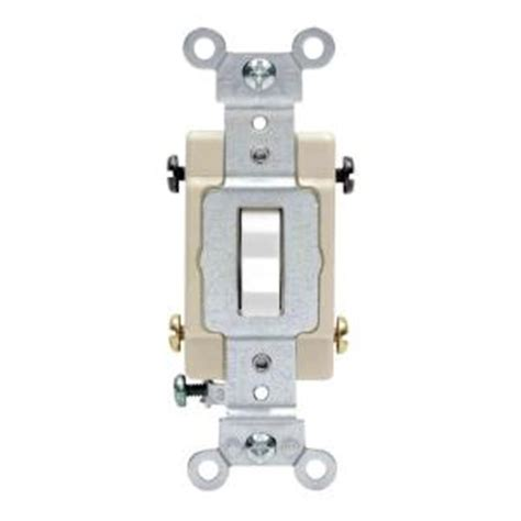 leviton 20 4 way preferred toggle switch white r62