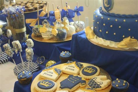 Prince Decorations by Royal Prince Baby Shower Ideas Photo 7 Of 12
