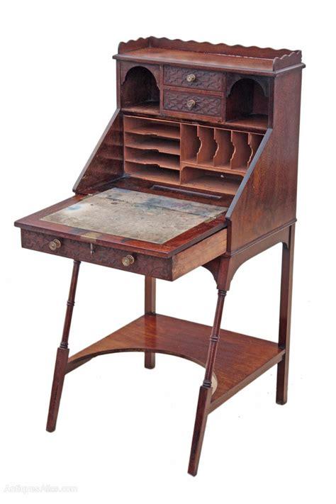 mahogany ladies writing desk edwardian mahogany ladies writing desk bureau