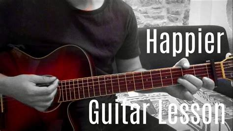 marshmello happier chords marshmello feat bastille happier guitar lesson