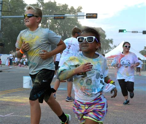 columbus color run new run adds colorful to columbus days local