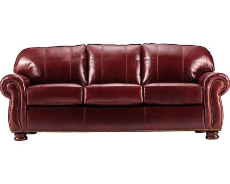 thomasville leather sofa benjamin 3 seat sofa leather living room thomasville