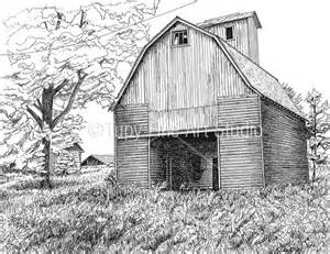 drawings of barns 184 best images about pen and ink on