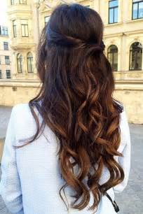 best 25 half up hairstyles ideas on