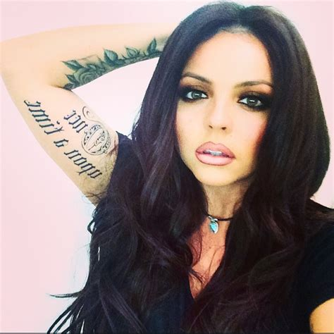 jesy nelson tattoos jesy nelson s curls mix singer shows a curly
