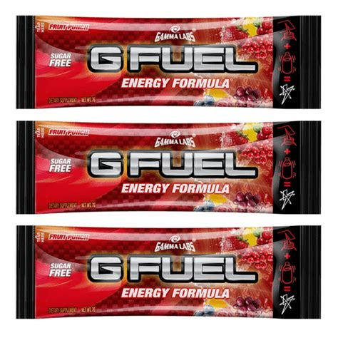 g fuel fruit punch fruit punch 3 pack g fuel