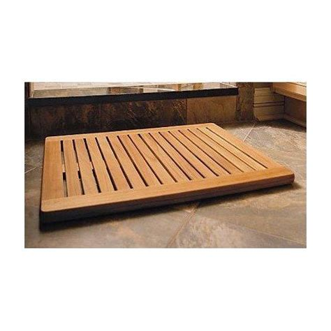 Outdoor Shower Mat by New Grade A Teak Wood Outdoor Large Size 30