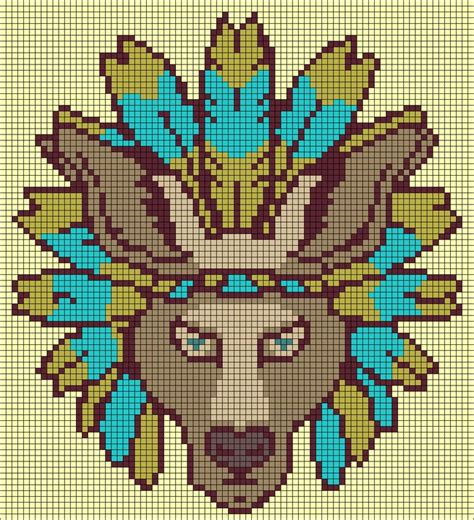 wolf perler bead pattern 17 best images about point de croix loups on
