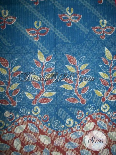 Hem Batik Tulis Asli Motif Kalimantan Ungu Kemeja Etnik F60217015 batik cantik motif unik dan warna biru trend 2014 k1376p