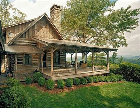 cozy log cabin porch home inspirtations pinterest log cabin wrap around porch cozy cabins pinterest