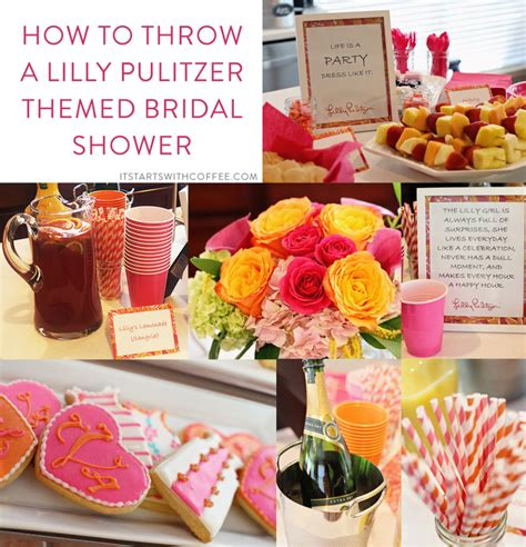 Where To Throw A Bridal Shower by How To Throw A Lilly Pulitzer Themed Bridal Shower It
