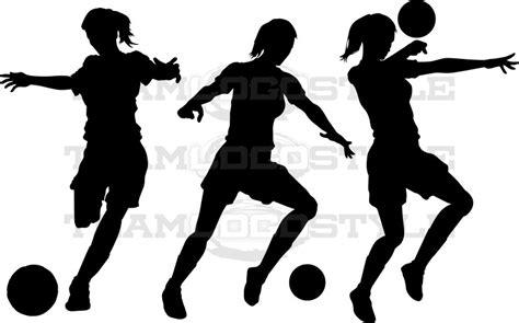 girl soccer clipart - Clipground Girl Soccer Silhouette Clip Art