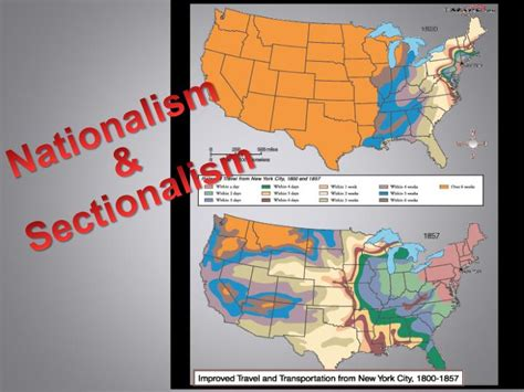 sectionalism powerpoint ppt nationalism sectionalism powerpoint presentation
