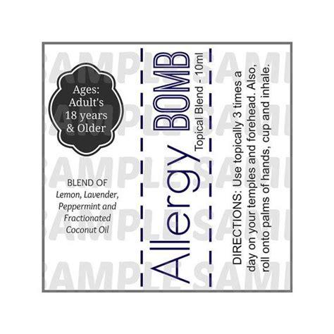 Digital Sheets Download Essential Oil Labels Oil Blend By Kadjac5 Oil Blend Recipes Essential Bottle Label Template