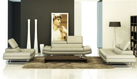 grey leather sofa modern 957 modern grey italian leather sofa set