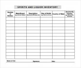 wine inventory template liquor inventory template 7 free documents in