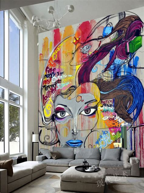 graffiti wallpaper living room best 25 bedroom sofa ideas only on pinterest ikea bed