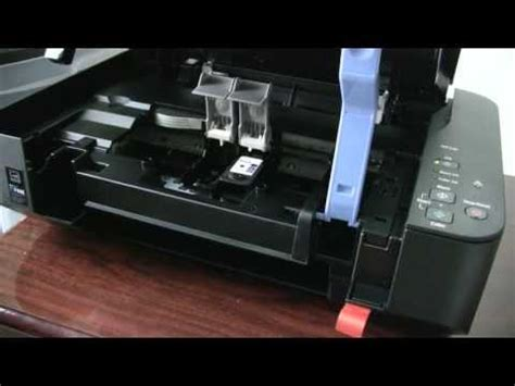 how to reset canon mp280 series pixma mg2420 mg2520 setting the ink tanks doovi