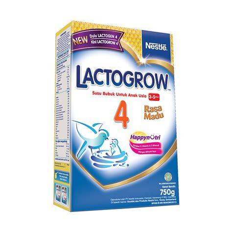 Lactogrow 4 750gr jual lactogrow 4 750gr madu prosehat