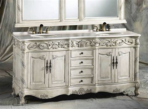 72 Inch Ferrari Vanity   Double Sink Vanity   Antique