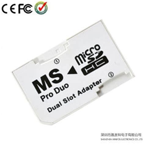 Memory Stick Duo Adaptor To Micro Sd Winfos Ms Pro Duo Murah china winfos micro sd tf to ms memory stick pro duo card adapter china dual slot adaptor