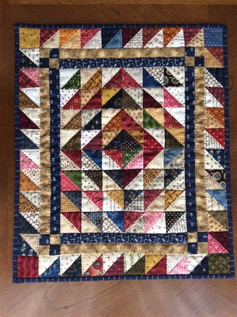Triangle Patchwork Quilt Patterns - 25 best ideas about half square triangles on