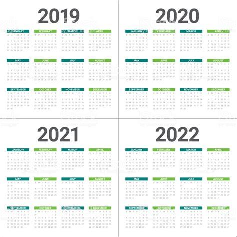 year     calendar vector design template stock vector art  images