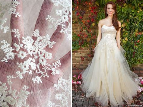 Wedding Dress Material by List Of The Trendiest Wedding Dress Material And Fabrics