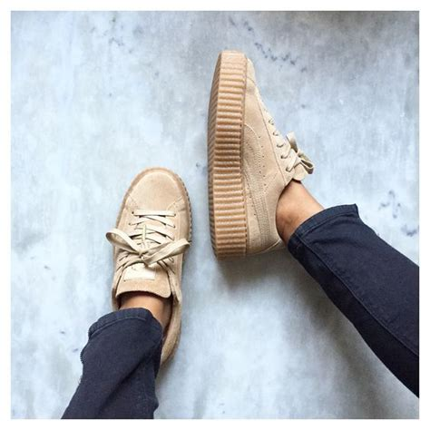 front view grch pinterest puma x badgalriri fenty creepers chaussures