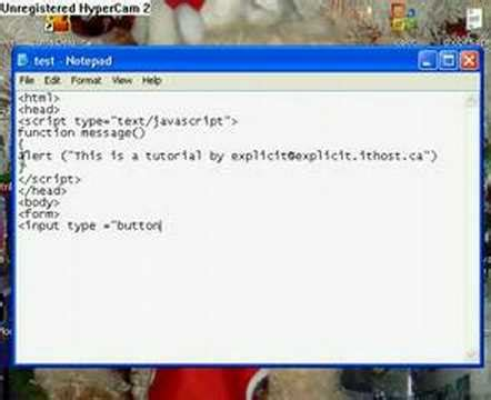 tutorial javascript in html javascript tutorial 1 functions youtube