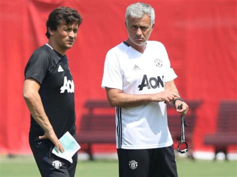 Mba Manchester Basketball by Manchester United Assistant Rui Faria To Leave At End Of
