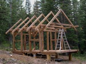 Beam Plans small timber frame cabin plans post and beam cabins framing a small