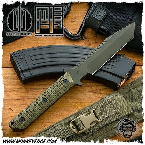 strider bt monkey edge strider knives fixed bt monkey edge frag