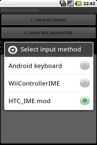 wii controller ime apk installer wiimote controller sur votre android android zone