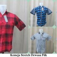 Kemeja Lengan Pendek Stretch pusat bisnis grosir baju murah 5000