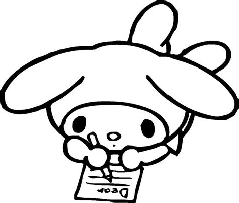 coloring pages my little kitty 36 best images about hello kitty coloring pictures on