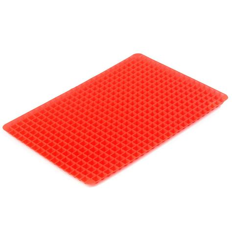 Oven Liner Mat by Non Stick Silicone Pyramid Pan Baking Mat Mould Cooking